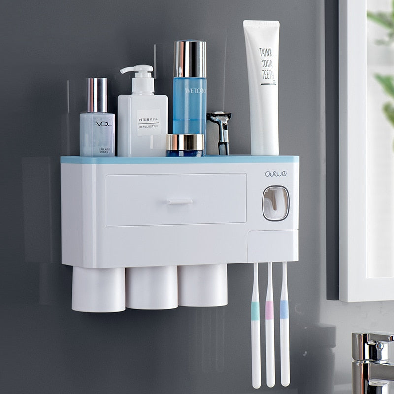 Multi-function Toothbrush Holder