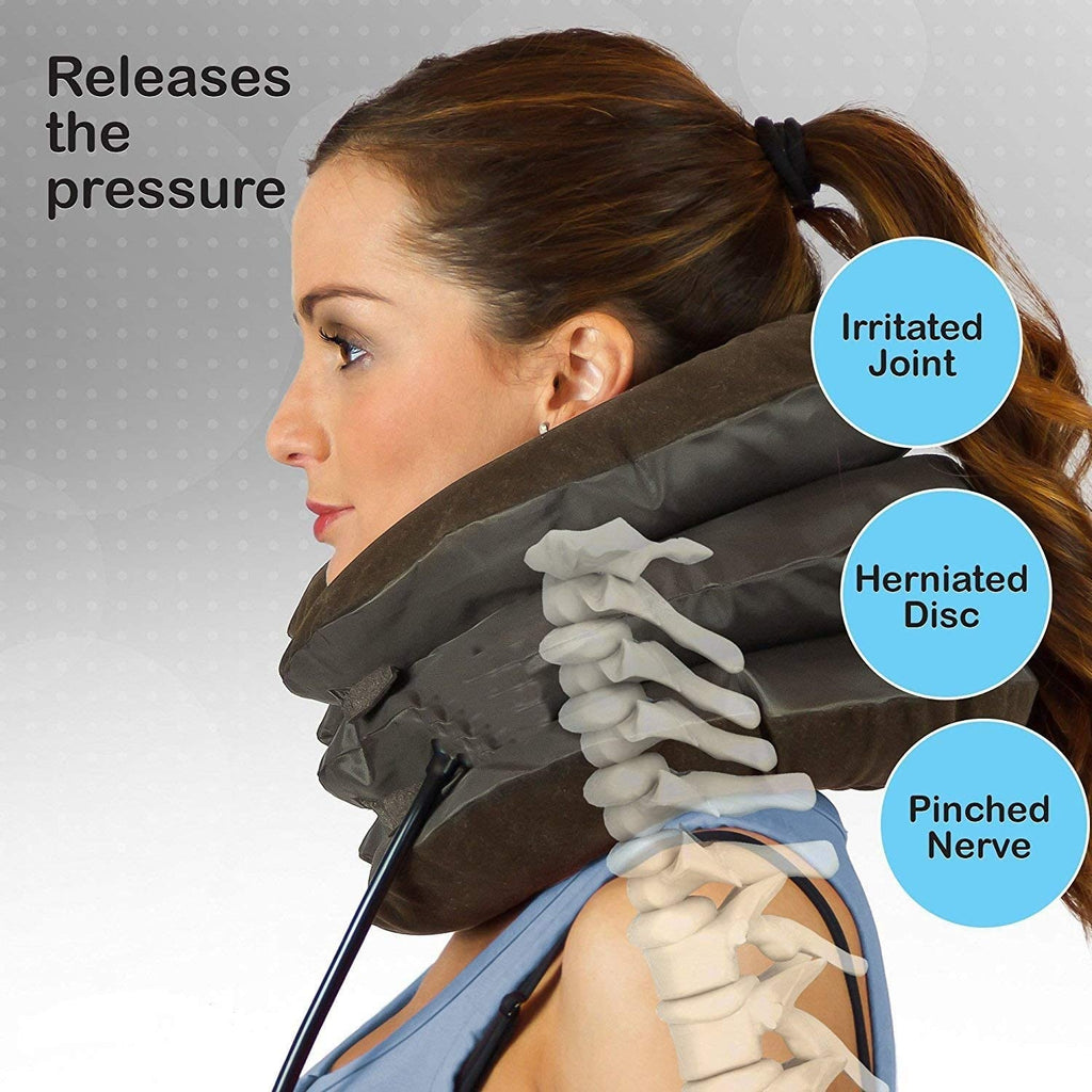Inflatable Neck Compressor Pillow™️