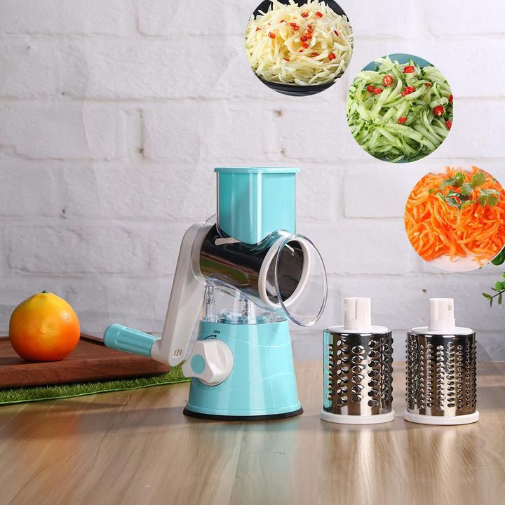 KingChef™ 3-in-1 Multifunction Mandoline Slicer