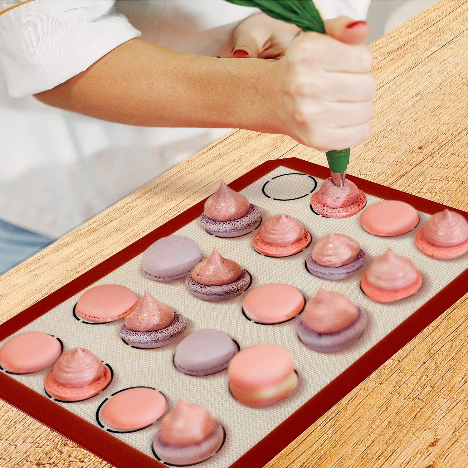 KingChef™ Silicone Cookie Baking Mat [BUY 1 GET 1 FREE]