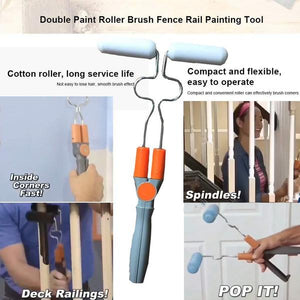 Nova Trends® Double Sided Paint Roller