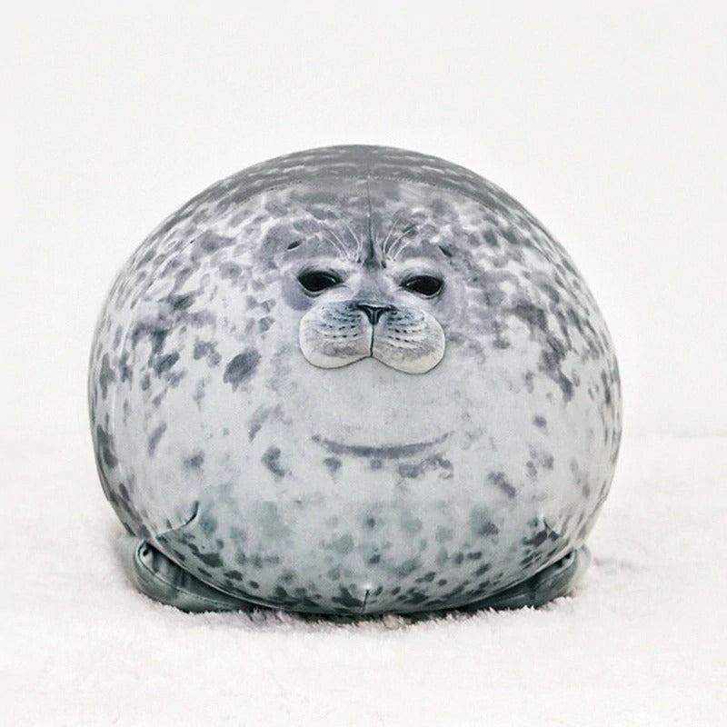 Byron The Giant Life-Like Seal Plush Toy