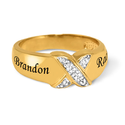 Couples Diamond Accent Ring