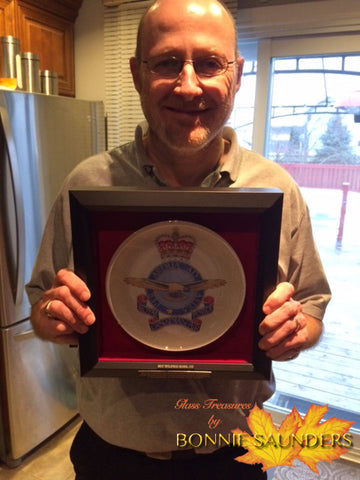 PROUD recipient of a Royal Canadian Air Force Badge Plate