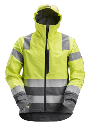 AllroundWork, High-Vis WP Shell Jacket CL3