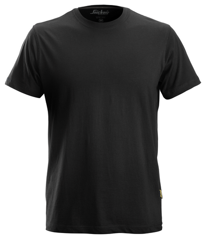 Snickers Workwear Classic T-Shirt- Black