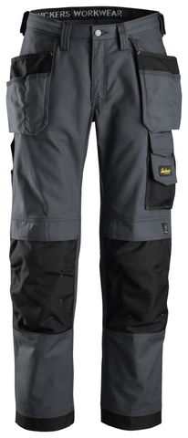 Snickers Workwear Craftsmen + Holster Pocket - Grey