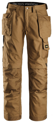 Craftsmen Holster Pocket Pants, Canvas+ - Brown