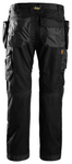 "Snickers Workwear RuffWork + Holster Pockets - 32"" Inseam- Black"