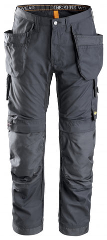 "Snickers Workwear AllroundWork + Holster Pockets - 35"" Inseam - Grey"