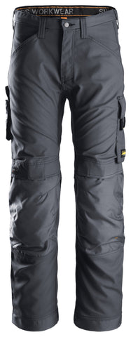"Snickers Workwear Allroundwork Pant - 30"" Inseam - Steel Grey"