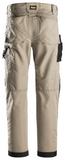"Snickers Workwear LiteWork 37.5® Pants - 30"" Inseam - Khaki/Black"