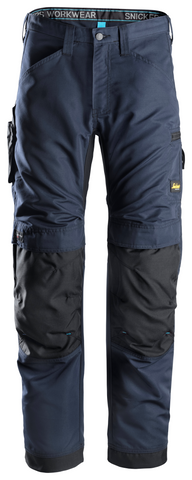 "Snickers Workwear LiteWork 37.5® Pants - 30"" - Navy/Black"