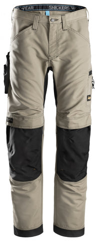 "Snickers Workwear LiteWork 37.5® Pants - 32"" Inseam - Khaki/Black"