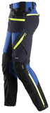 Snickers Workwear Flexi Softshell Pant + Holster Pockets -Blue/Black