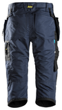 Snickers Workwear LiteWork 37.5® 3/4 Pirate Short + Holster Pockets - Navy