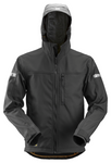 Snickers Workwear AllroundWork Softshell Jacket- Black