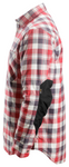 Workwear RuffWork Insulated Padded Flannel- Red
