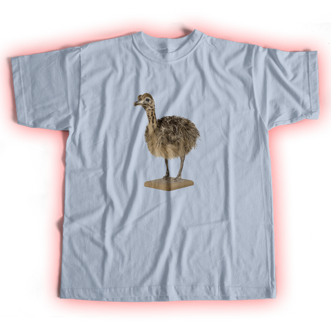 Ostrich Light Blue T-Shirt