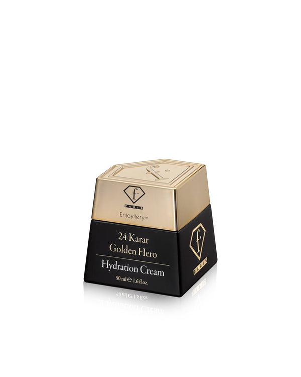 קרם לחות זהב Golden Hero 24K - Fashion TV Cosmetics Israel