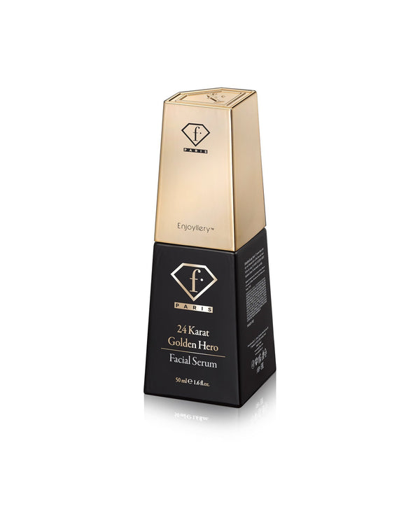 סרום זהב לפנים Golden Hero 24K - Fashion TV Cosmetics Israel