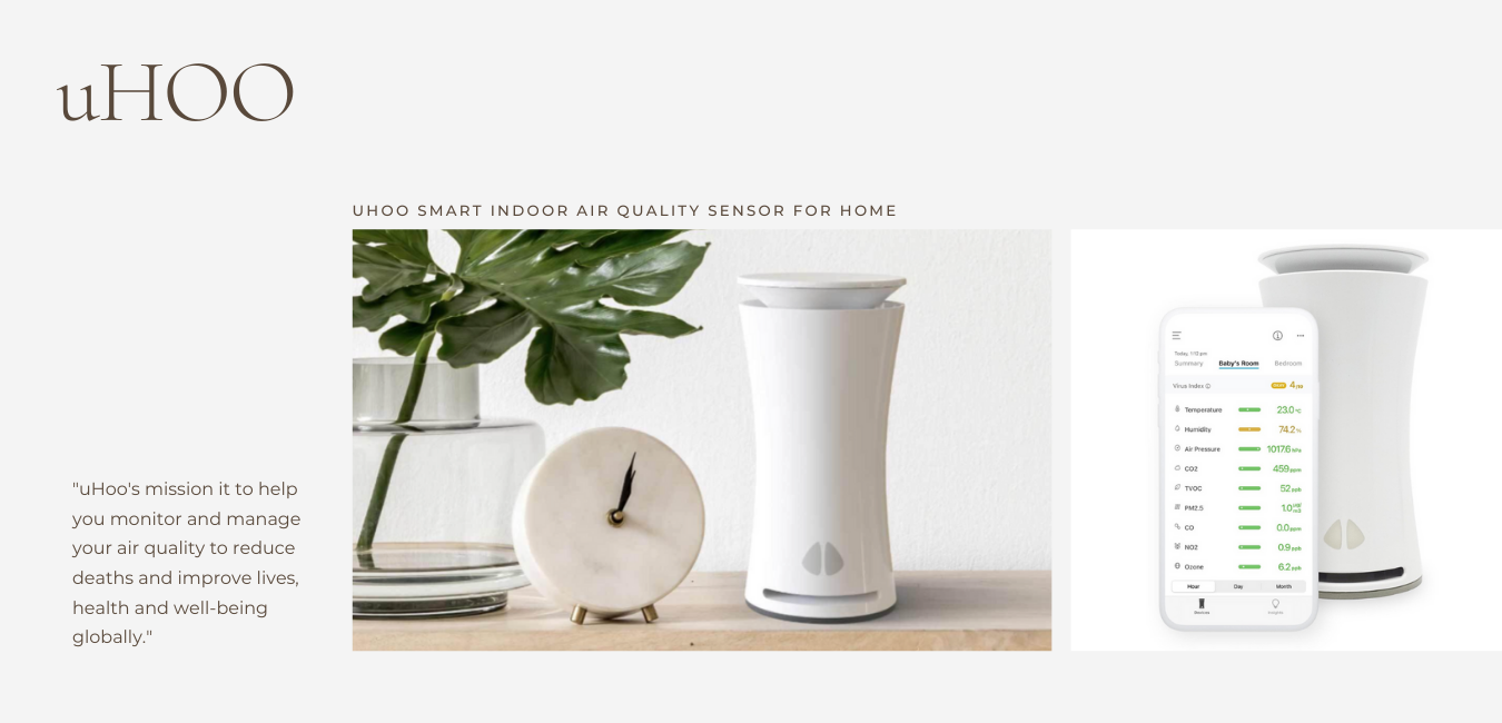 uhoo air quality monitor
