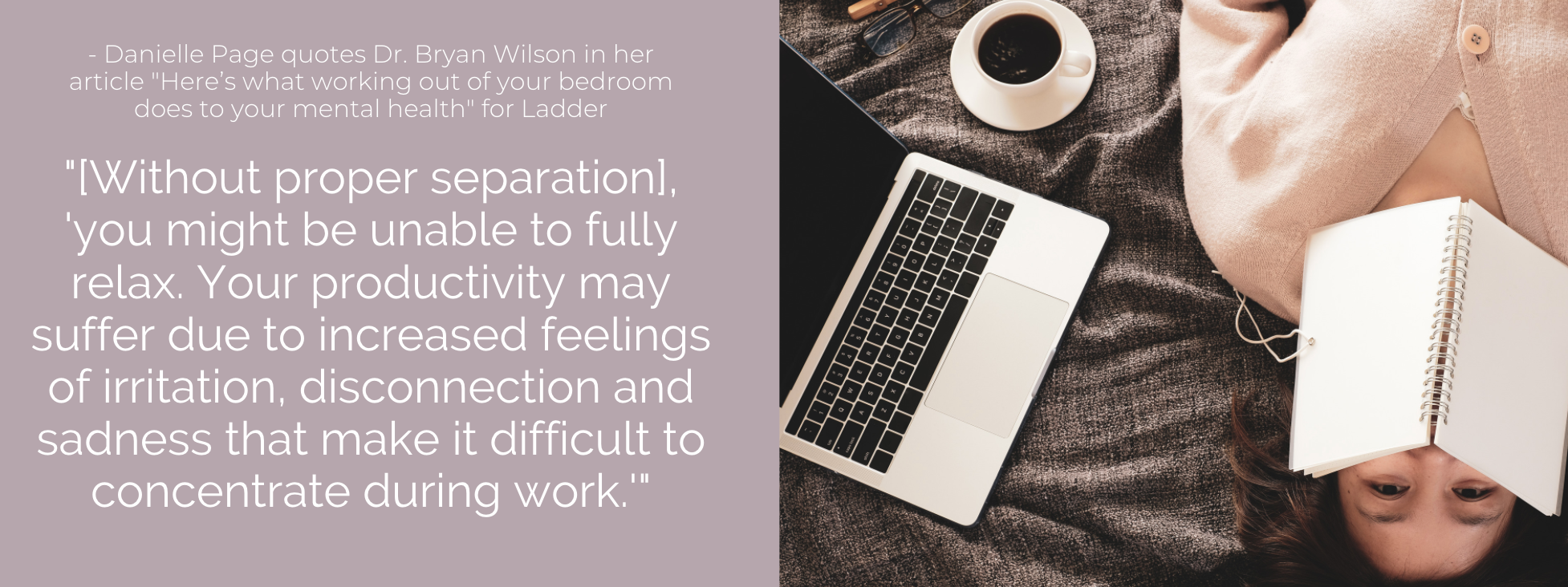 Your productivity may suffer due to increased feelings of irritation