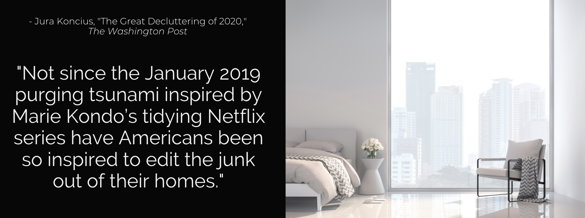 The Great Decluttering of 2020