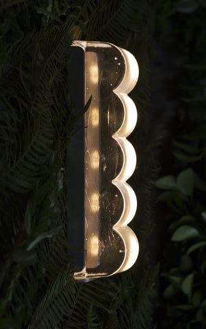 Grain Drift Bump Sconce