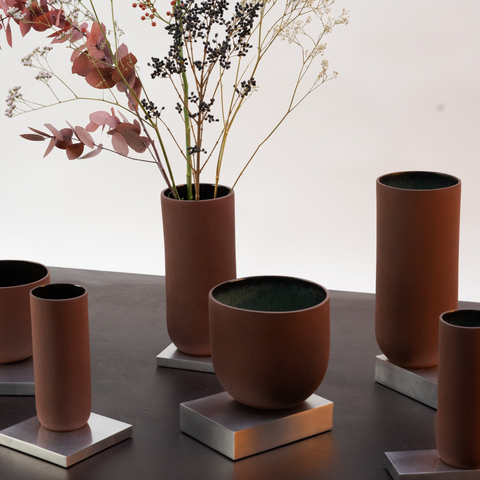 Studio ThusThat | Red Mud Vase