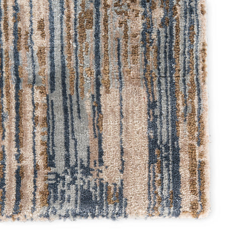 Jaipur Living Storia Rug in Abstract Beige & Blue