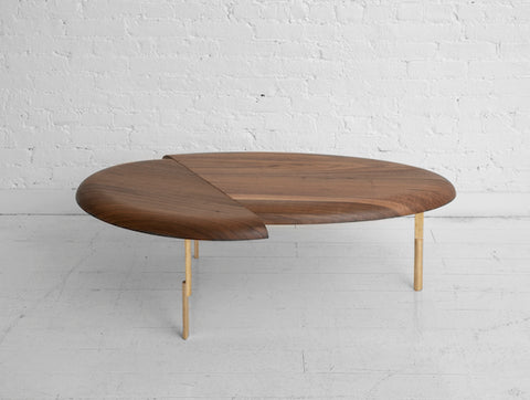 Grain Offset Coffee Table