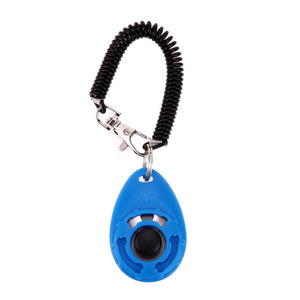 Blue- Dog Training  Adjustable Sound Key Chai