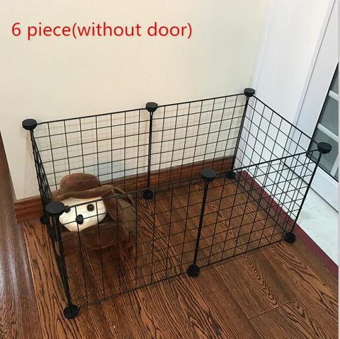 Pet Playpen Iron Fence Puppy Kennel House