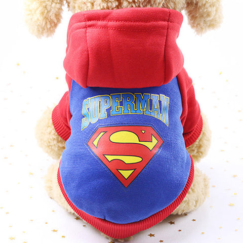 Cotton Cartoon Dog Hoodie Coat Jacket