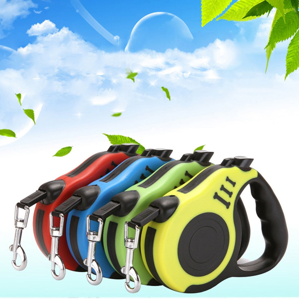 Retractable Dog Leash Automatic Flexible