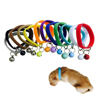 Adjustable Puppy ID Collar Band With Bell