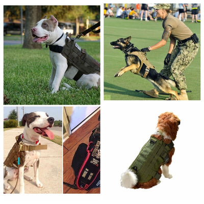 Military Hunting Dog Clothes Packs Coat