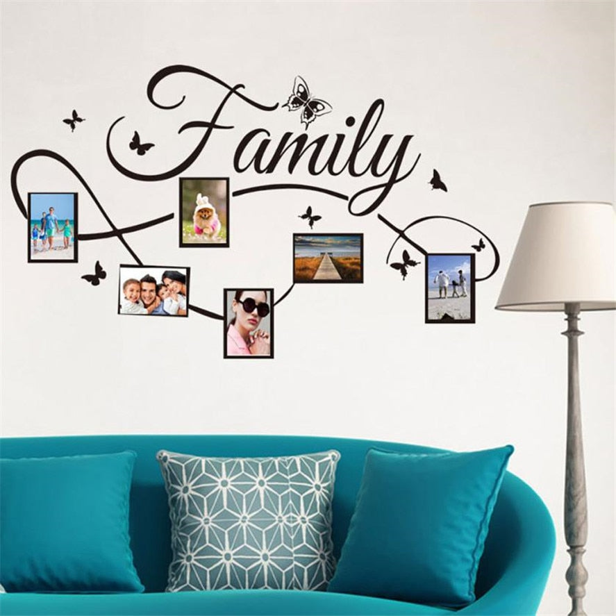 Family Treasures Wall Decal