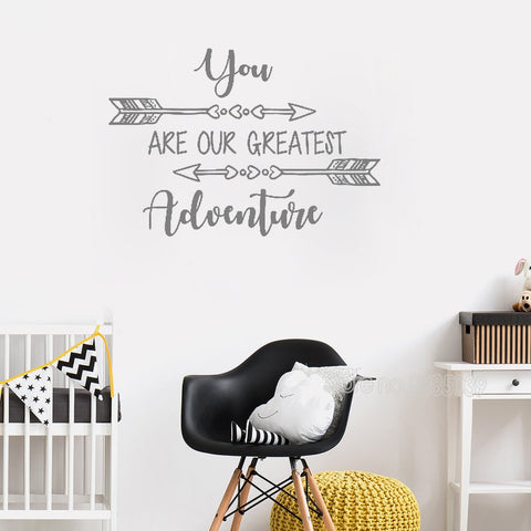 Our Greatest Adventure Wall Decal