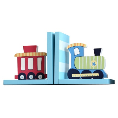 Train Decorative Bookends