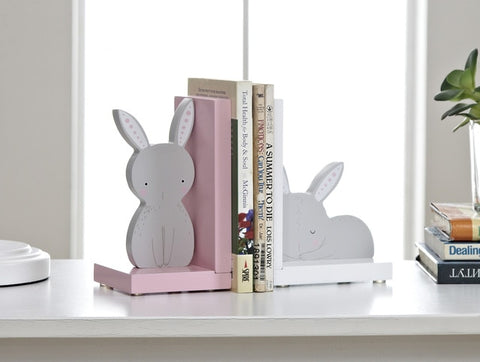 Bunny Rabbit Decorative Bookends