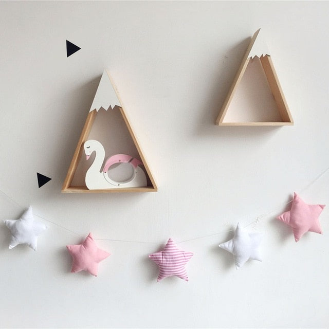 Nordic Star Garland Wall Decorations