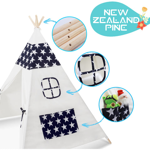 Adventure Time Kids Teepee - Starry Night