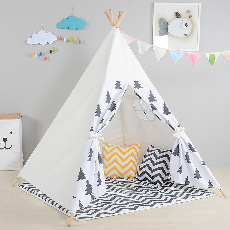 Adventure Time Kids Teepee - Pine Trees