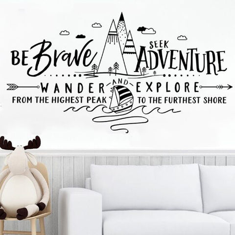 Little Adventurer Decal