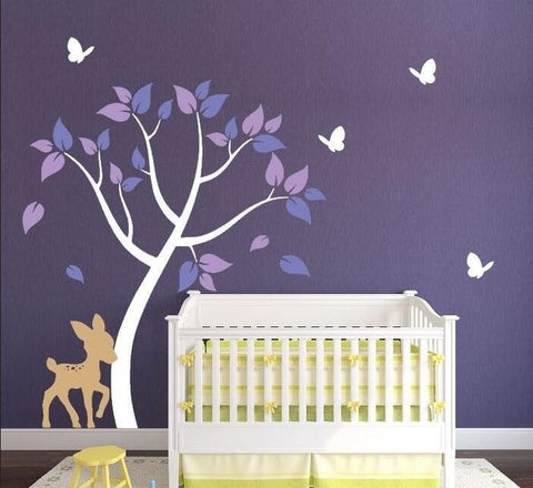 Serene Forest Wall Decal
