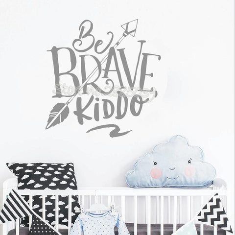 Be Brave Kiddo Decal