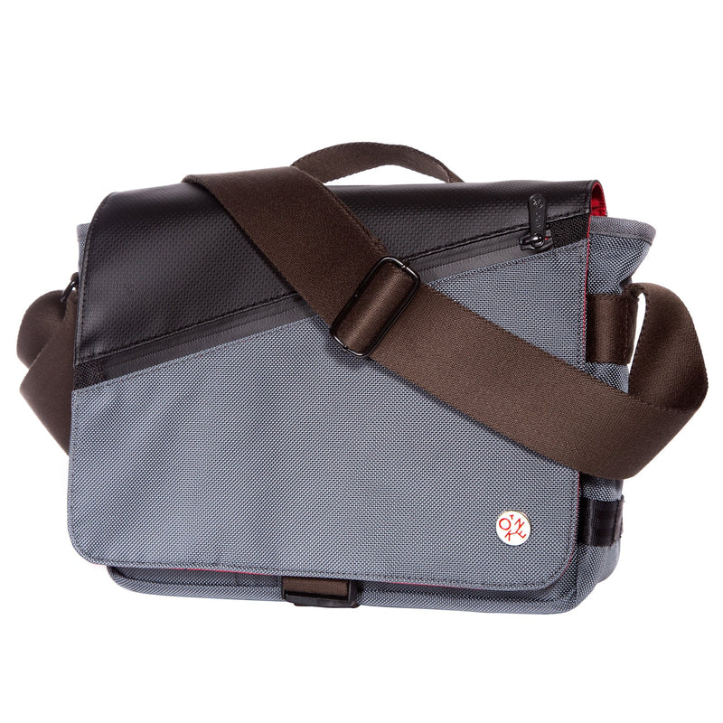 Grand Army Shoulder Bag W/Back Zipper
