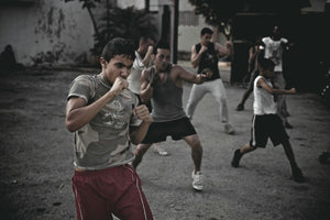 Cuba In Waiting Boxing Practice